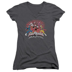 Power Rangers - Ninja Blast Junior V-Neck T-Shirt