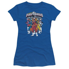 Power Rangers - Team Lineup Junior T-Shirt