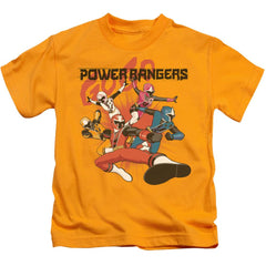 Power Rangers - Attack Kids T-Shirt