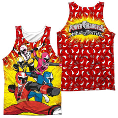 Power Rangers - Go Go Ninja Steel Adult Tank Top