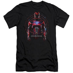 Power Rangers Red Ranger Adult Slim Fit T-Shirt