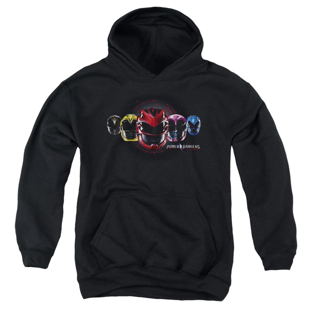 Power Rangers - Head Group Youth Hoodie
