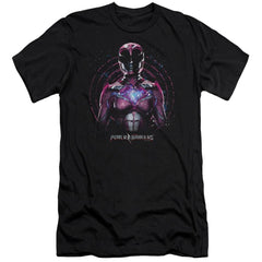 Power Rangers Pink Ranger Adult Slim Fit T-Shirt
