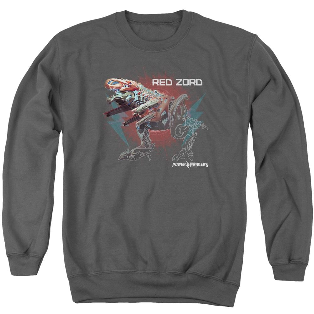 Power Rangers - Red Zord Adult Crewneck Sweatshirt