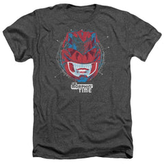 Power Rangers - Its Morphin Time Adult Regular Fit Heather T-Shirt