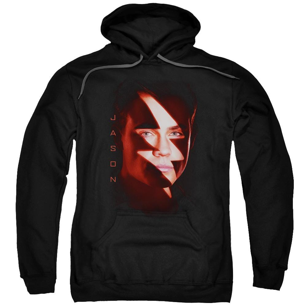 Power Rangers Jason Bolt Adult Pull-Over Hoodie