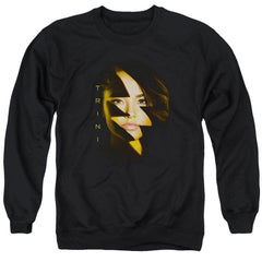Power Rangers Trini Bolt Adult Crewneck Sweatshirt