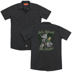 Popeye Get Spinach Adult Work Shirt