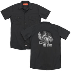 Popeye Come At Me Adult Work Shirt