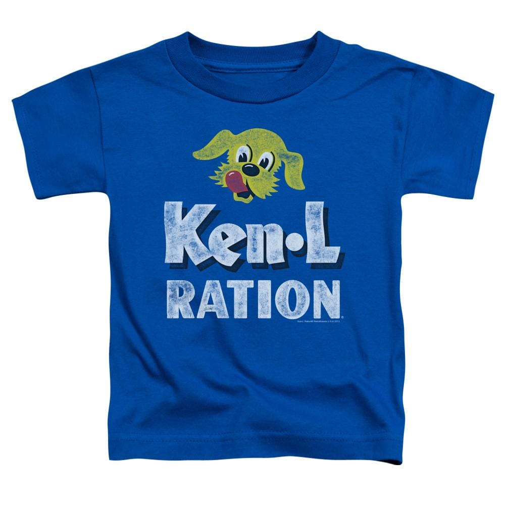Ken L Ration Distressed Logo Toddler T-Shirt
