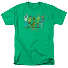 Scooby Doo Scooby Gang Adult Regular Fit T-Shirt