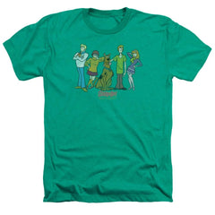 Scooby Doo Scooby Gang Adult Regular Fit Heather T-Shirt