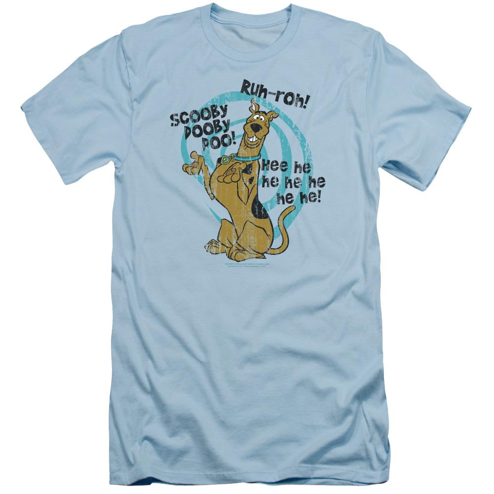 Scooby Doo Quoted Adult Slim Fit T-Shirt