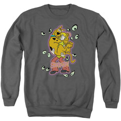 Scooby Doo Being Watched Adult Crewneck Sweatshirt
