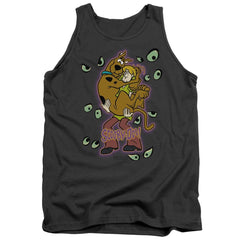 Scooby Doo Being Watched Adult Tank Top