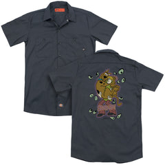 Scooby Doo Being Watched Adult Work Shirt