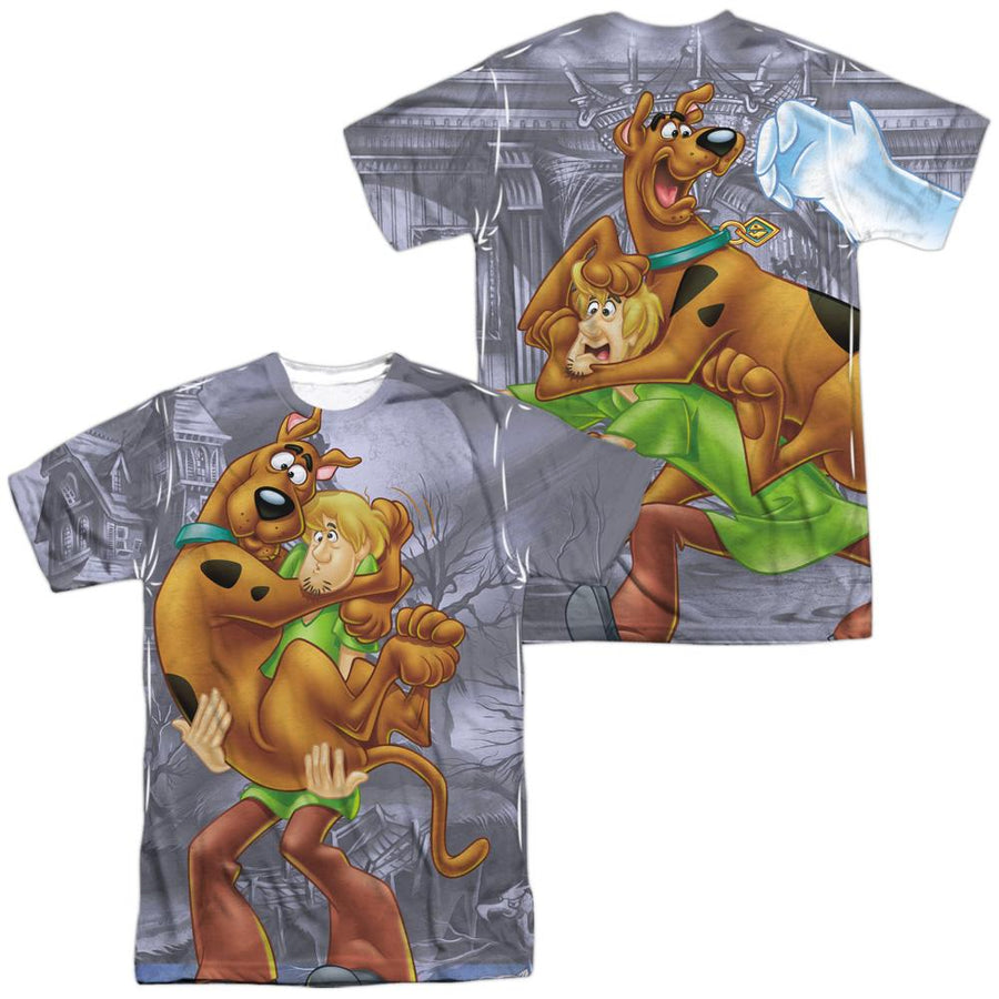 Scooby Doo Scooby And Shaggy Men's All Over Print T-Shirt