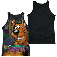 Scooby Doo Big Dog Adult Black Back Tank top