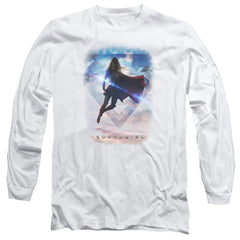 Supergirl - Endless Sky Adult Long Sleeve T-Shirt