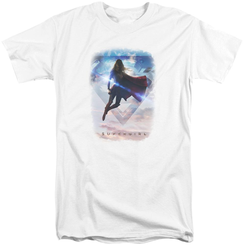 Supergirl - Endless Sky Adult Tall Fit T-Shirt