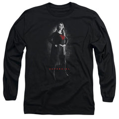 Supergirl - Supergirl Noir Adult Long Sleeve T-Shirt