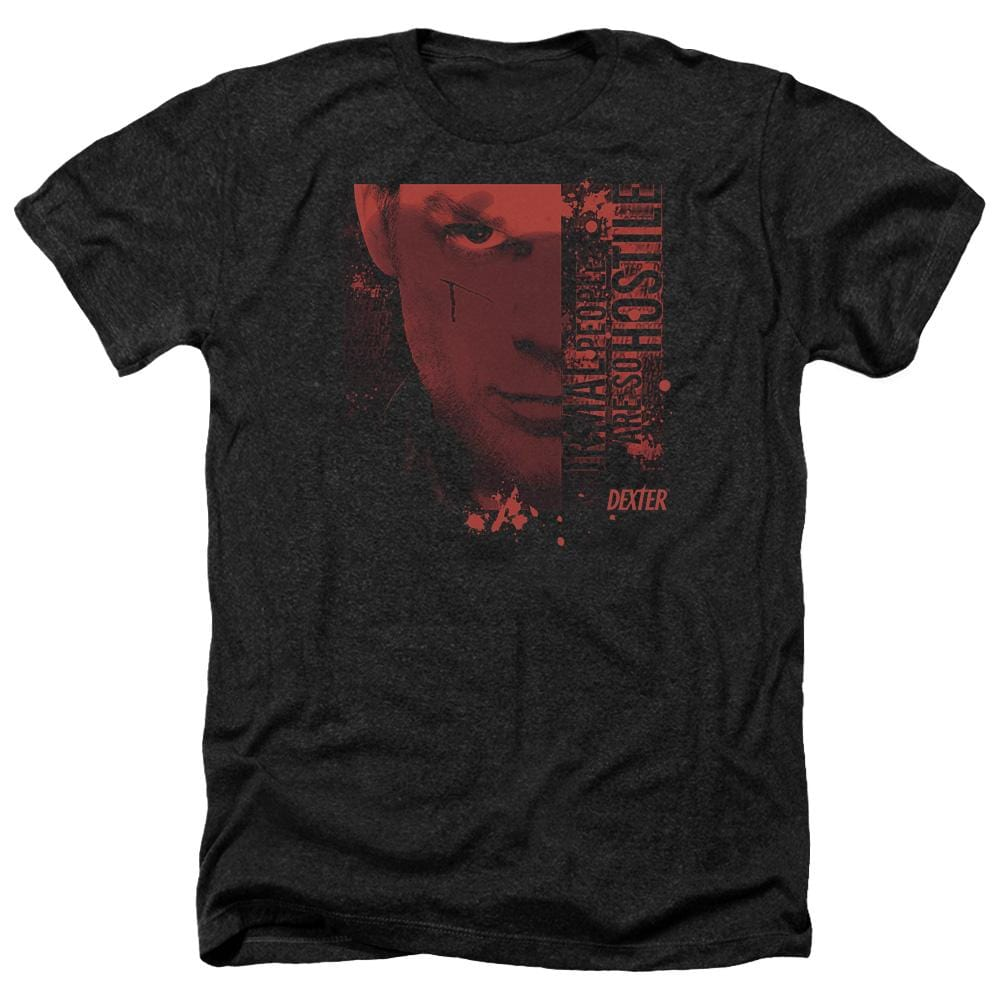 Dexter Normal Adult Regular Fit Heather T-Shirt