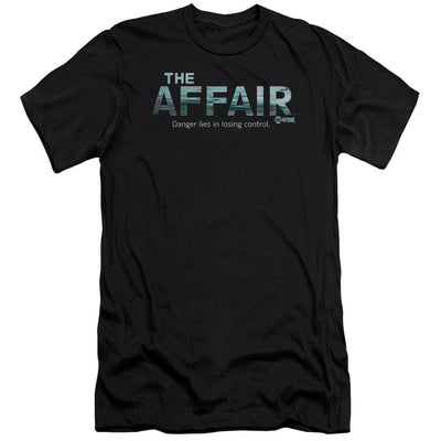 Affair Ocean Logo Men's Slim Fit T-Shirt