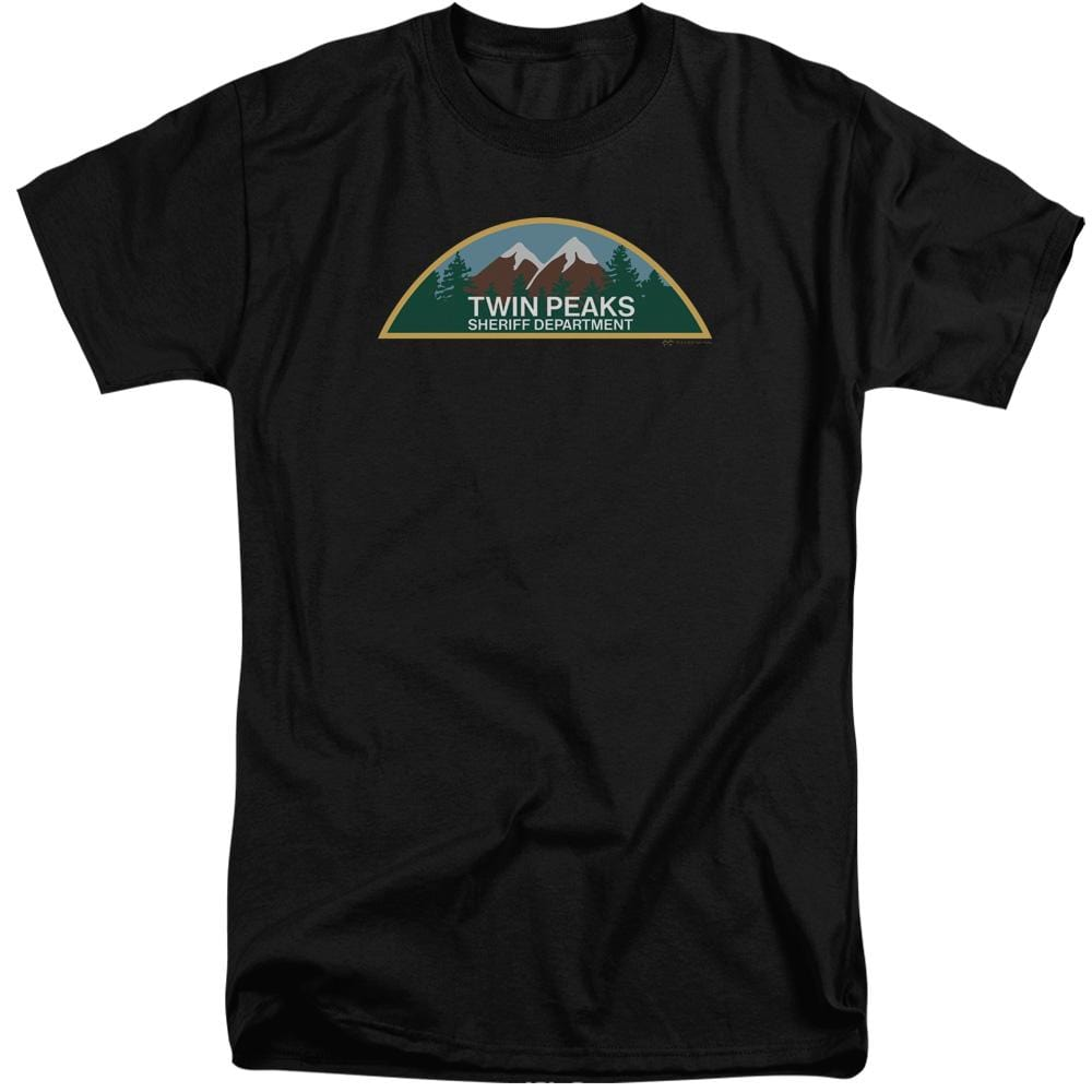 Twin Peaks Sheriff Department Adult Tall Fit T-Shirt