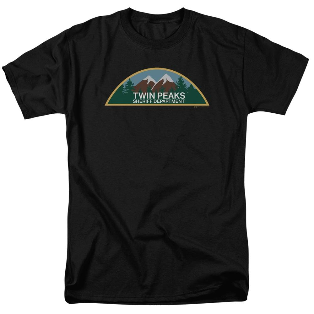 Twin Peaks Sheriff Department Adult Regular Fit T-Shirt