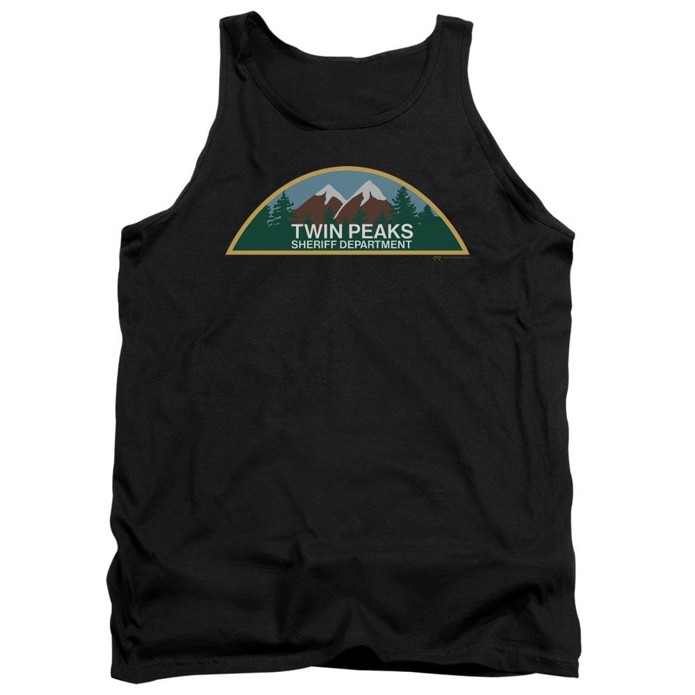 Twin Peaks Sheriff Department Adult Tank Top