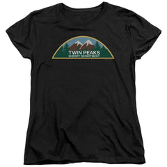 Twin Peaks Sheriff Department Women's T-Shirt