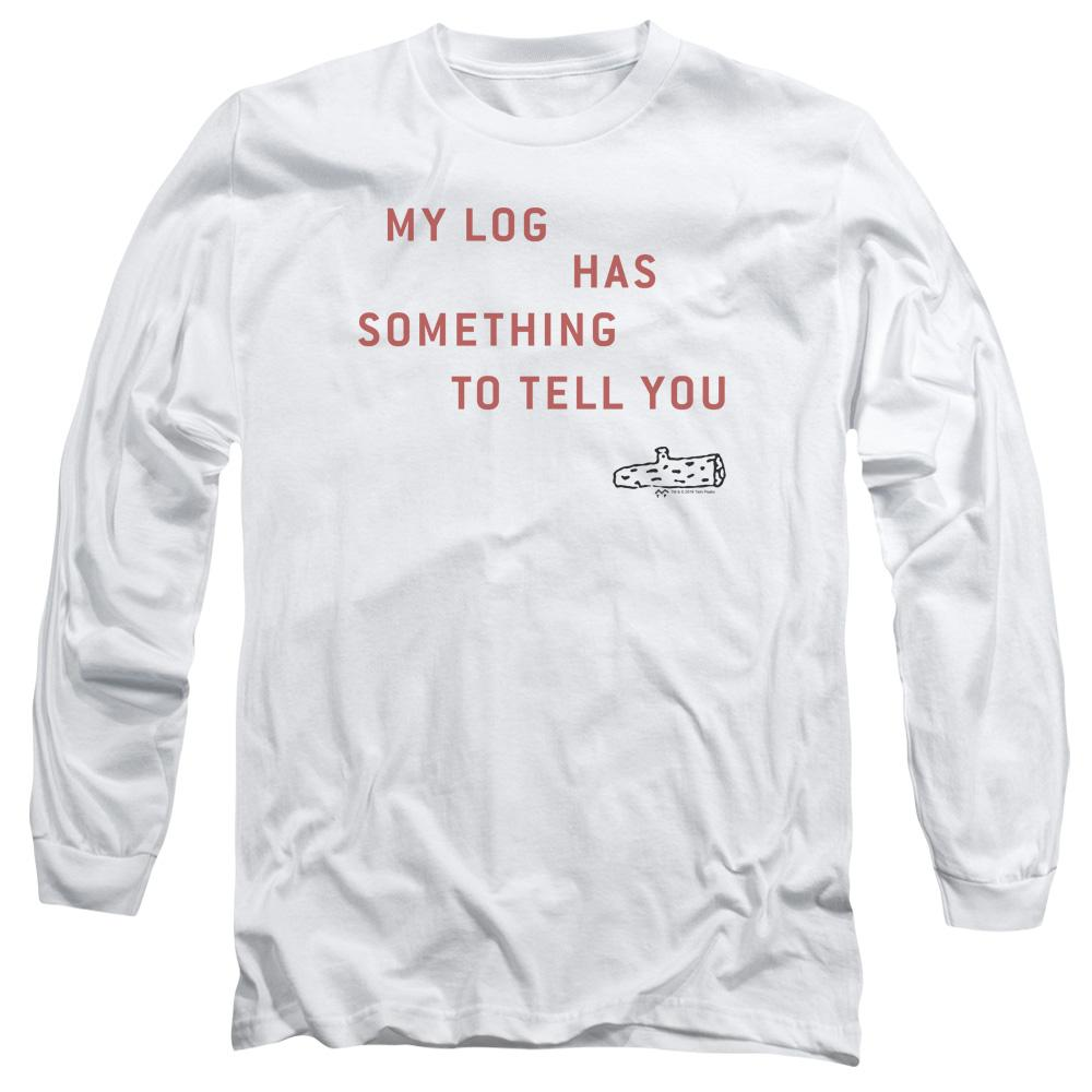 Twin Peaks My Log Adult Long Sleeve T-Shirt