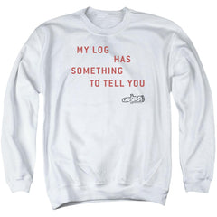Twin Peaks My Log Adult Crewneck Sweatshirt