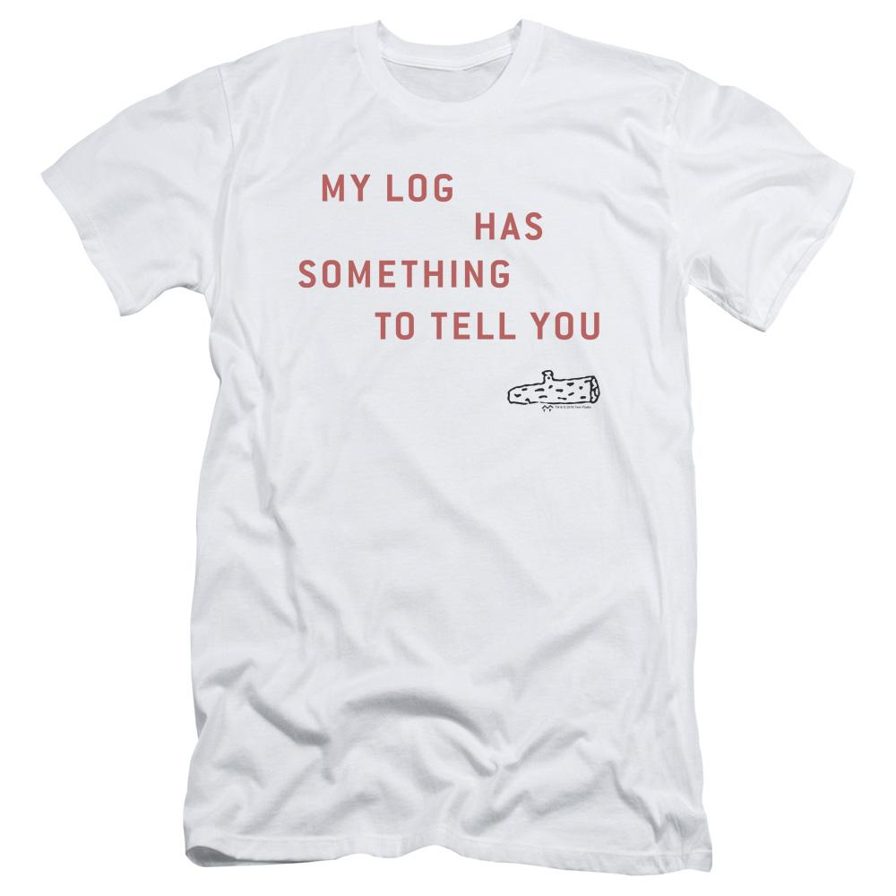 Twin Peaks My Log Adult Slim Fit T-Shirt