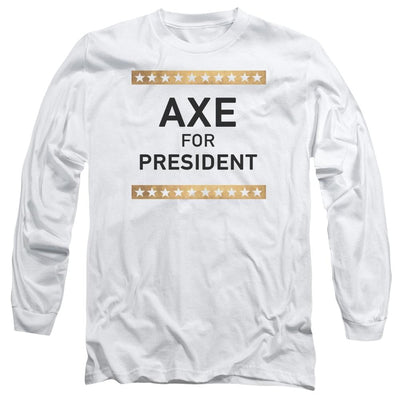 Billions Axe For President Men's Long Sleeve T-Shirt