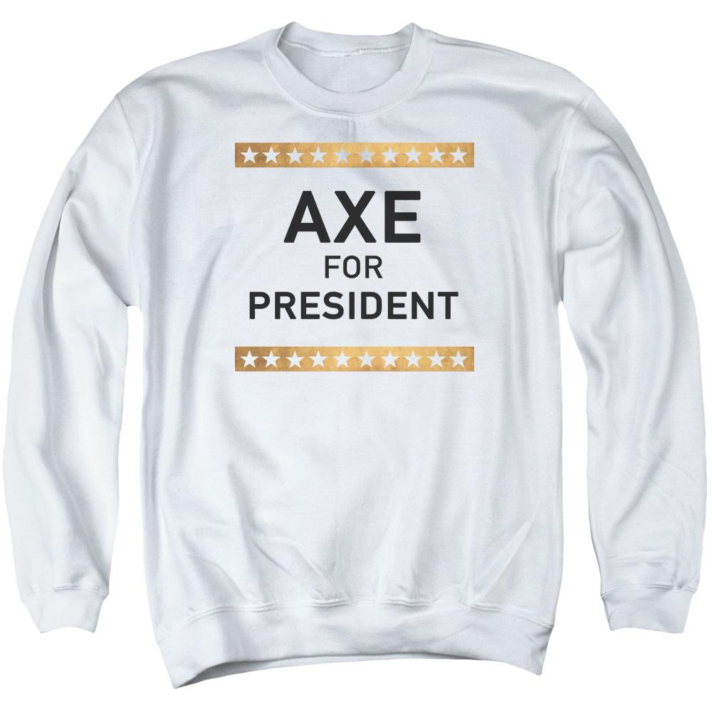 Billions Axe For President Adult Crewneck Sweatshirt