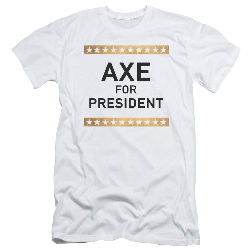 Billions Axe For President Adult Slim Fit T-Shirt