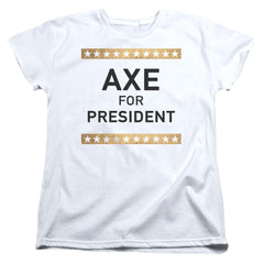 Billions Axe For President Women's T-Shirt