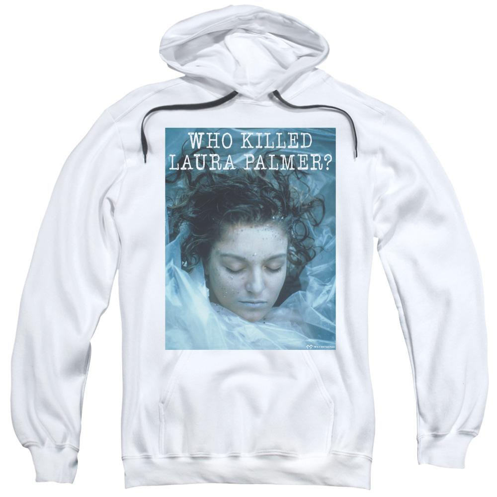 Twin Peaks Who Killed Laura Adult Pull-Over Hoodie