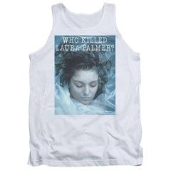Twin Peaks Who Killed Laura Adult Tank Top
