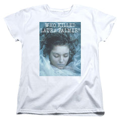 Twin Peaks Who Killed Laura Women's T-Shirt