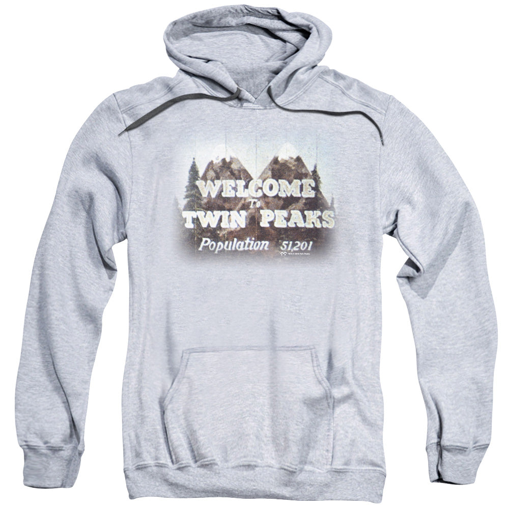 Twin Peaks Welcome To Adult Pull-Over Hoodie