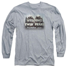Twin Peaks Welcome To Adult Long Sleeve T-Shirt