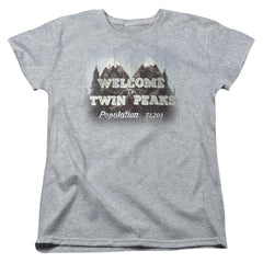 Twin Peaks Welcome To Women's T-Shirt