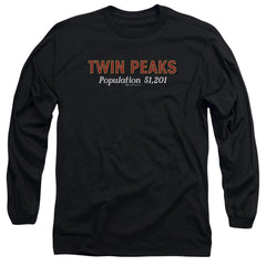 Twin Peaks Population Adult Long Sleeve T-Shirt