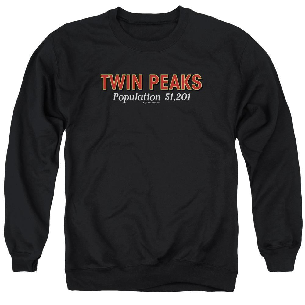 Twin Peaks Population Adult Crewneck Sweatshirt