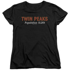 Twin Peaks Population Women's T-Shirt