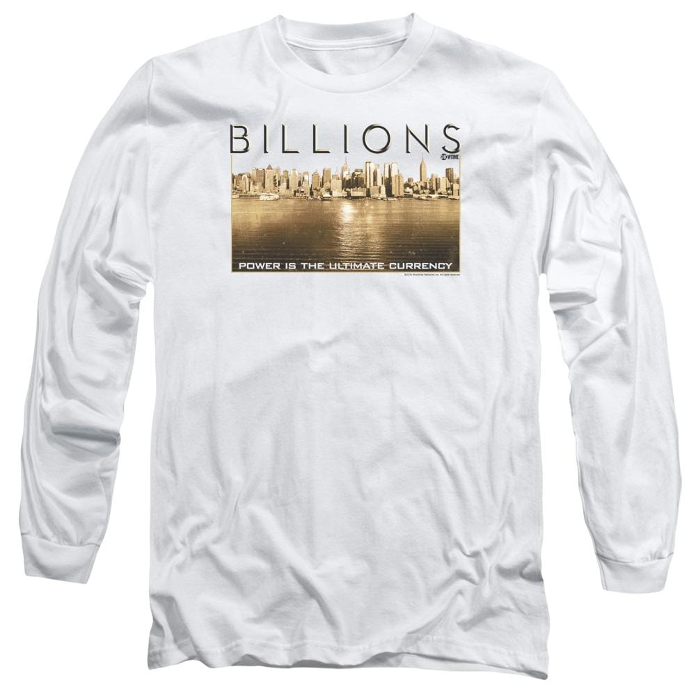 Billions Golden City Adult Long Sleeve T-Shirt