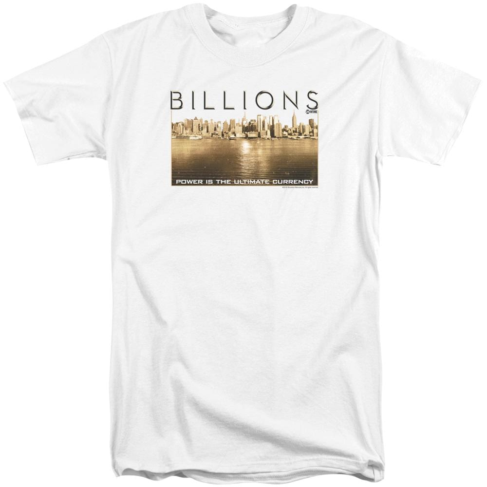 Billions Golden City Adult Tall Fit T-Shirt