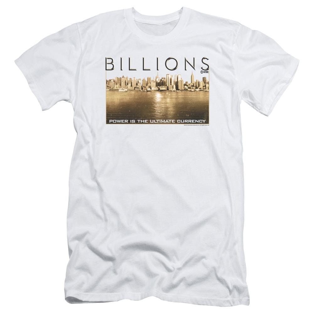 Billions Golden City Adult Slim Fit T-Shirt